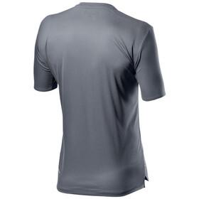 Castelli Tech T-shirt Heren, silver/gray